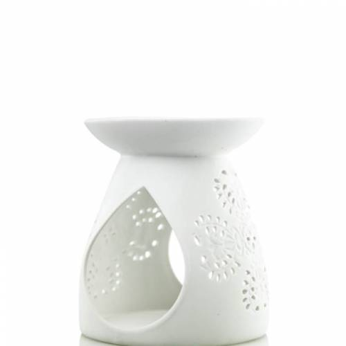 WAX MELT BURNER WHITE